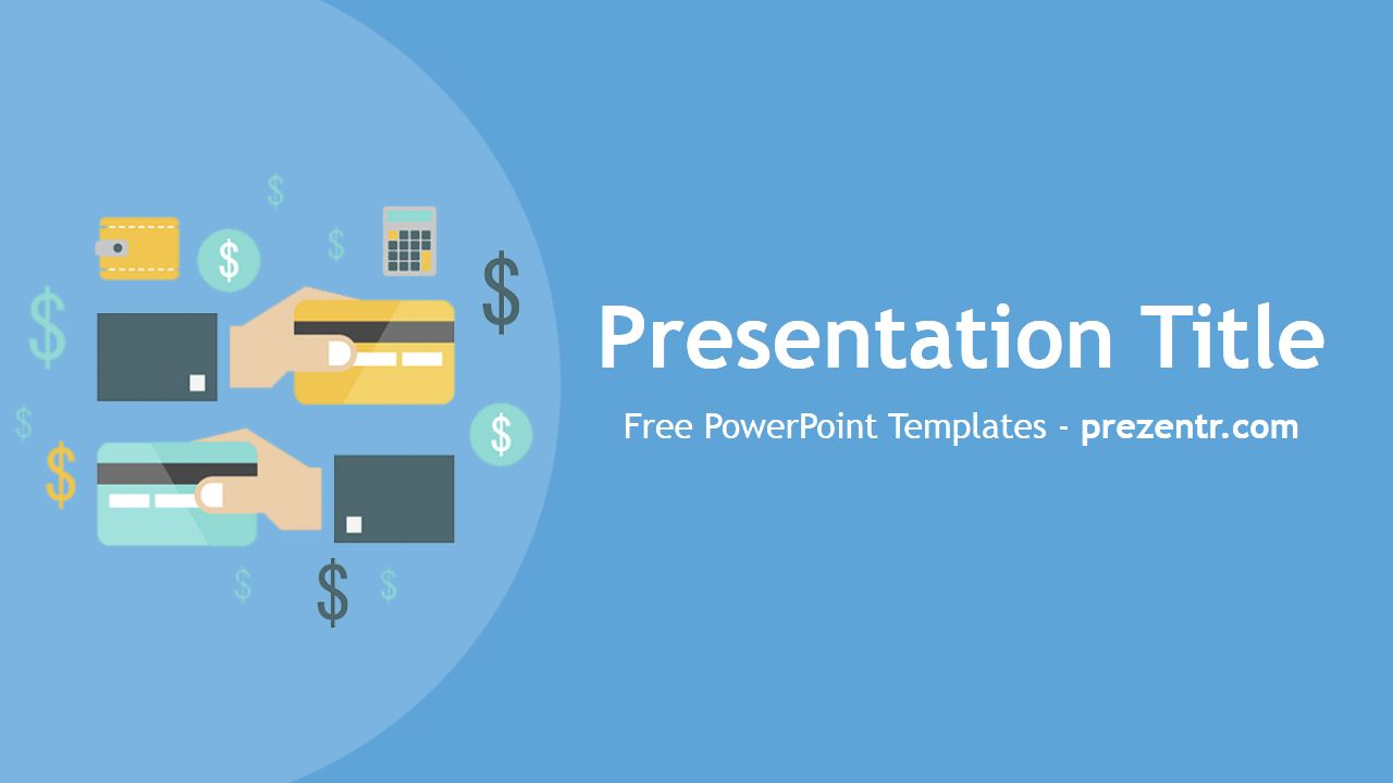 The Charming Free Credit Cards Powerpoint Template Prezentr Powerpoint Within Business Card Powerpoi Powerpoint Template Free Powerpoint Templates Powerpoint
