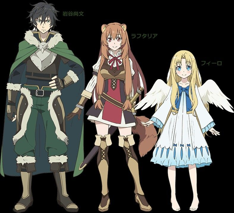 Rising Of The Shield Hero Anime Characters Hero Anime Titles
