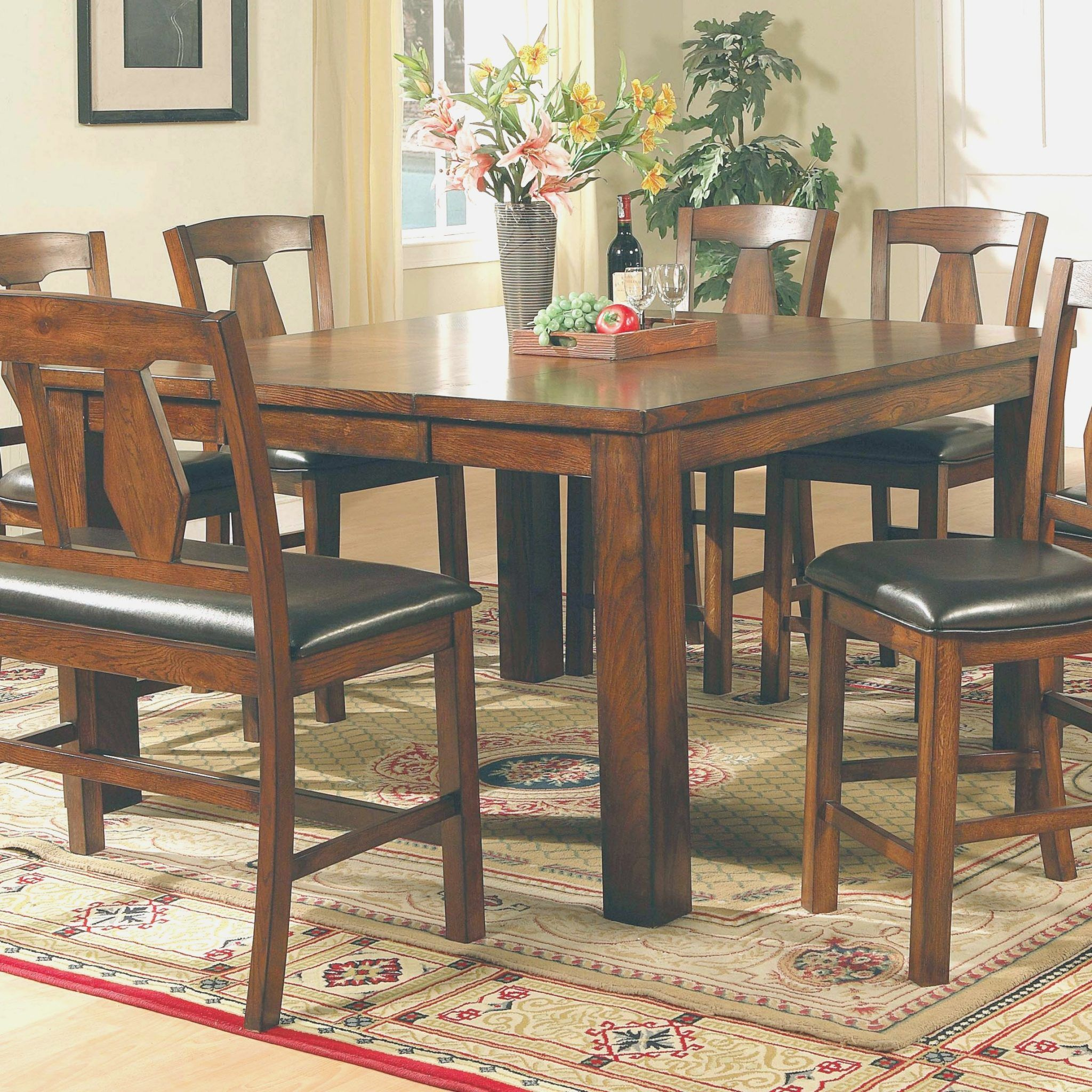Kitchen Table With Leaf Insert Gl