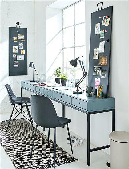 Schreibtisch Metallsockel Mit Bildern Schreibtisch Im