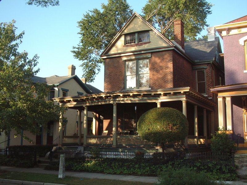 Huffman Historic Area Dayton Ohio Victorian Homes Architecture House Styles