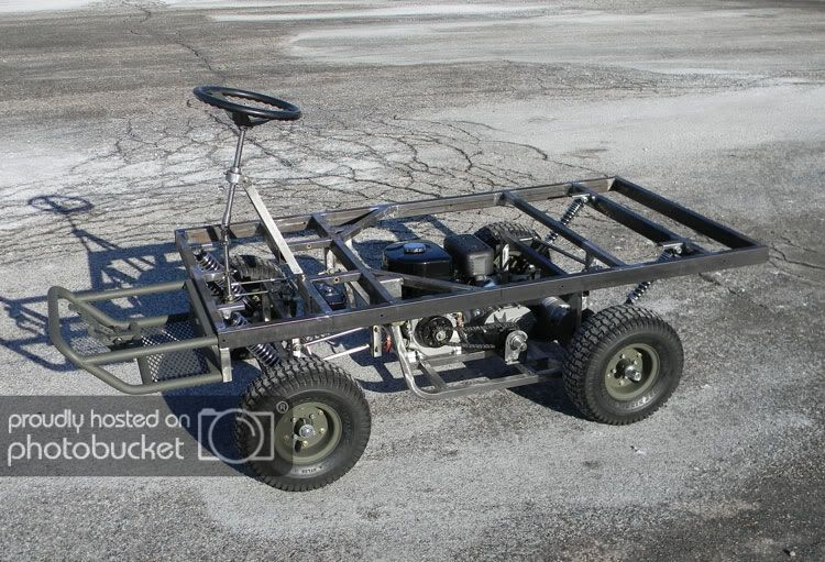 M274 military mule half scale home build - DIY Go Kart Forum | Army
