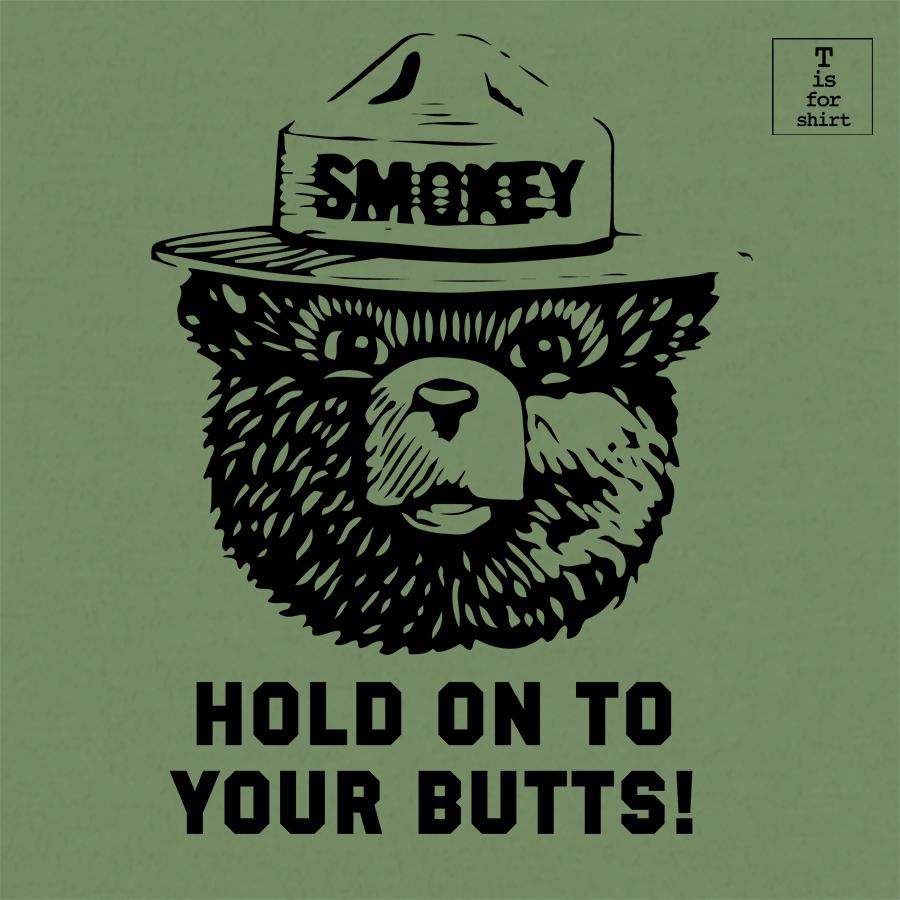 Smokey Bear T Shirt Smokey The Bears Smokey Bear Fishing