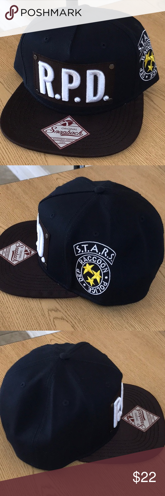 Spotted while shopping on Poshmark  Resident evil police department  SnapBack hat new!  poshmark  fashion  shopping  style  Other c8402d026dd9