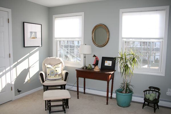 Paint color Benjamin Moore Gray Horse Come To My Window