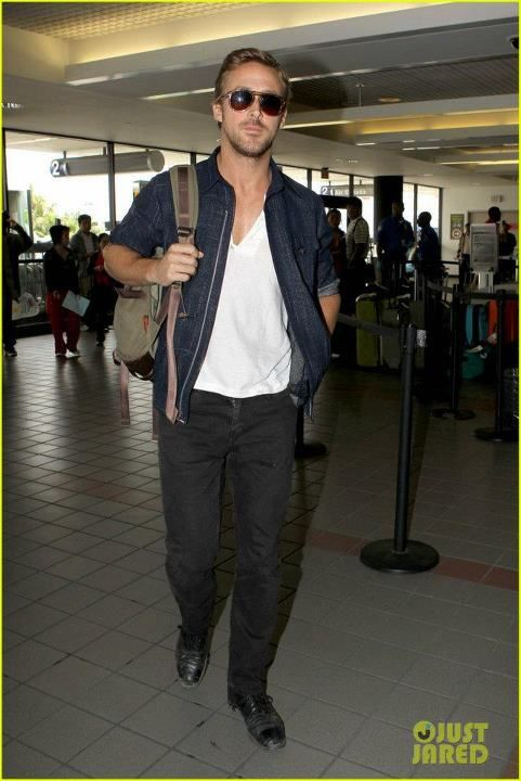 Ryan Gosling - LAX June 2nd 2012