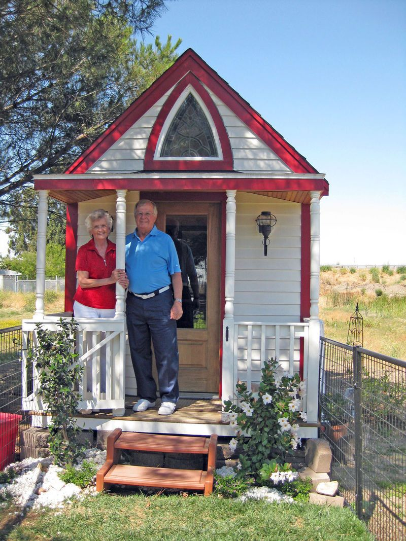 TINY HOUSES Interest in diminutive dwellings grows Hout