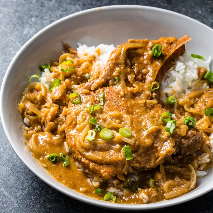 Slow Cooker Smothered Pork Chops Cook S Country Cooks