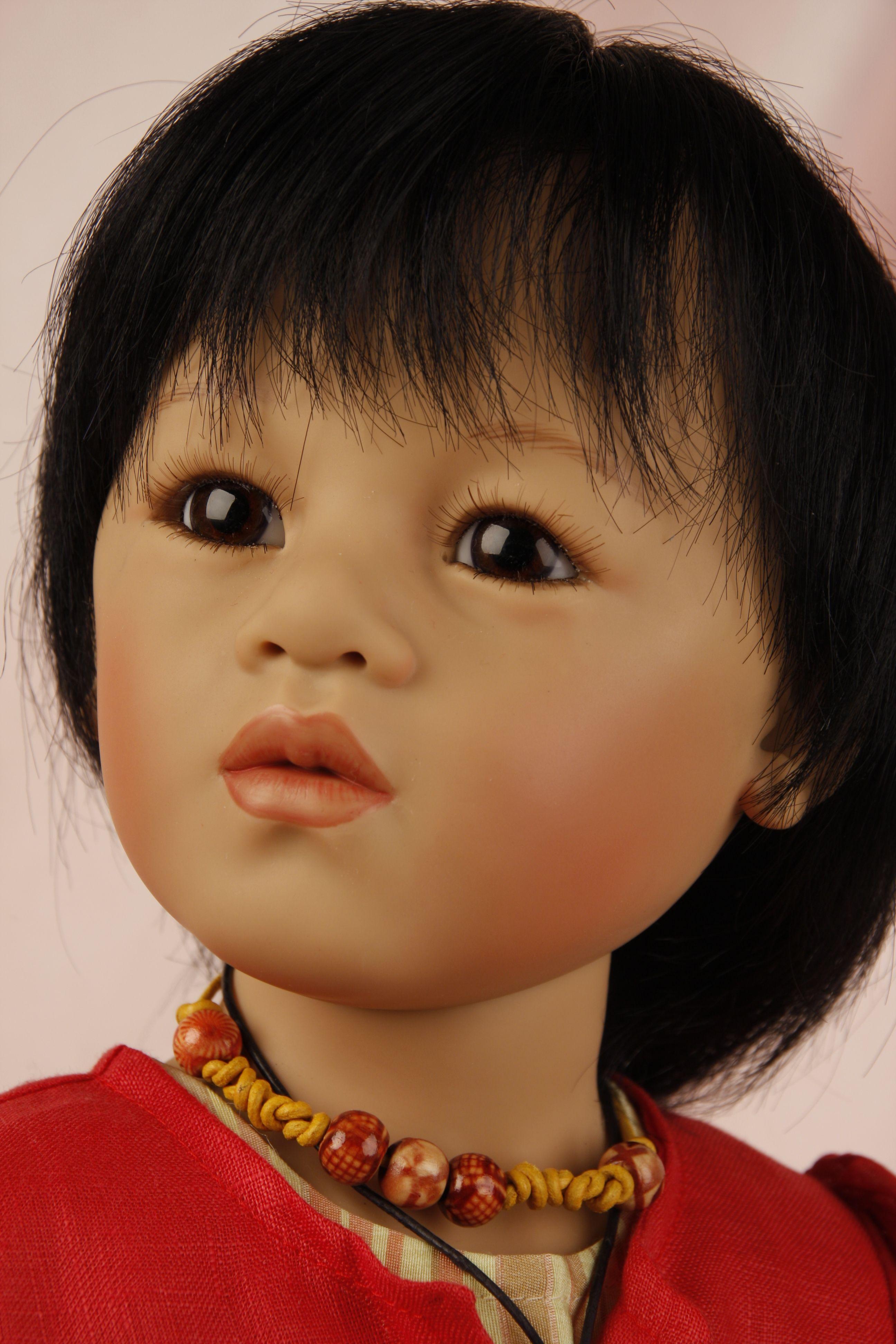 Sira, doll by Sieglinde Frieske