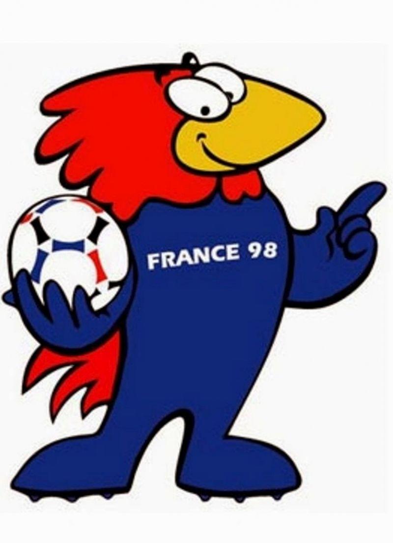 Creer Une Mascotte Creads Mascotte Coupe Du Monde France 98 Footix Mascotte Coupe Du Monde Logo Equipe De France