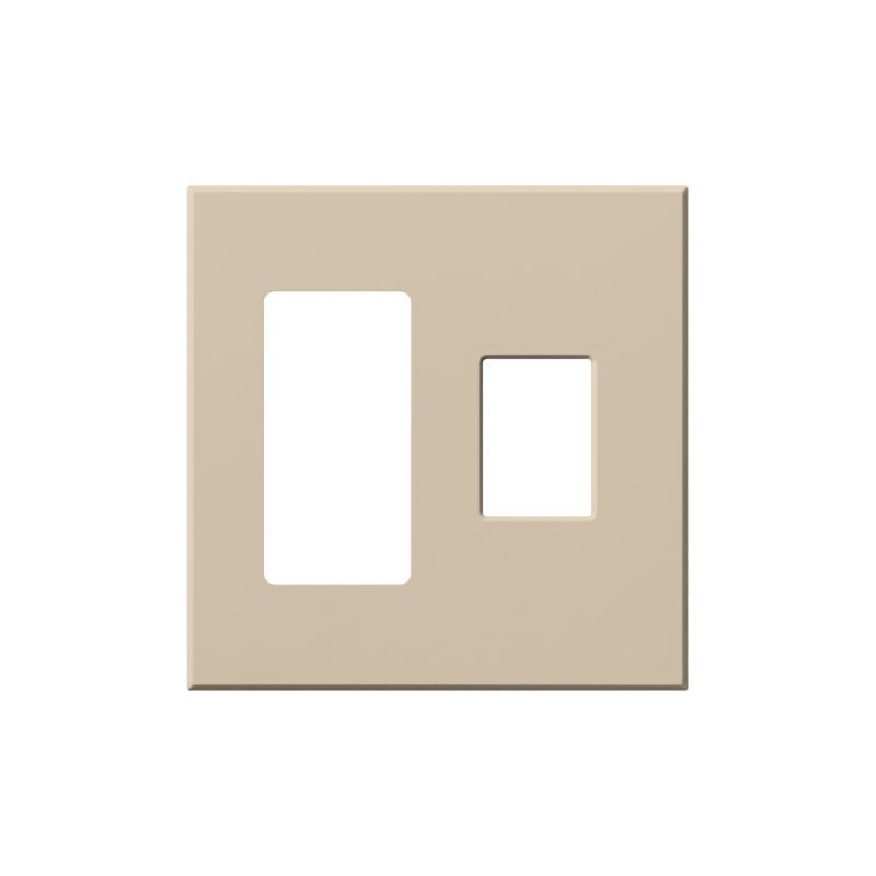 Lutron Vwp 2rc Architectural Two Gang Wall Plate For One Accessory