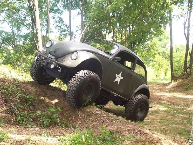 1968 Volkswagen Beetle Custom 4x4 Monster Mud Machine