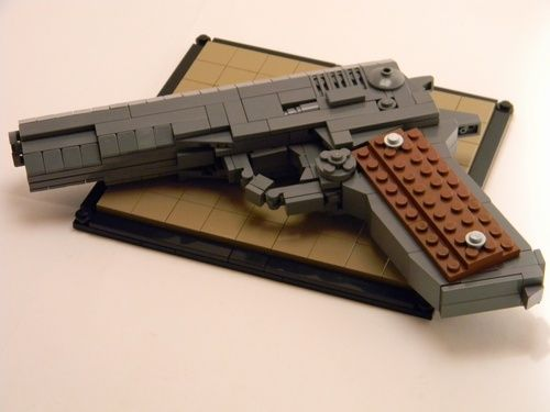 M1911 A Lego Creation By Josh B Mocpages Lego Pinterest