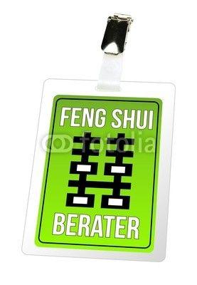 Feng Shui Berater feng shui berater ausweis schild pass energie fotolia meine