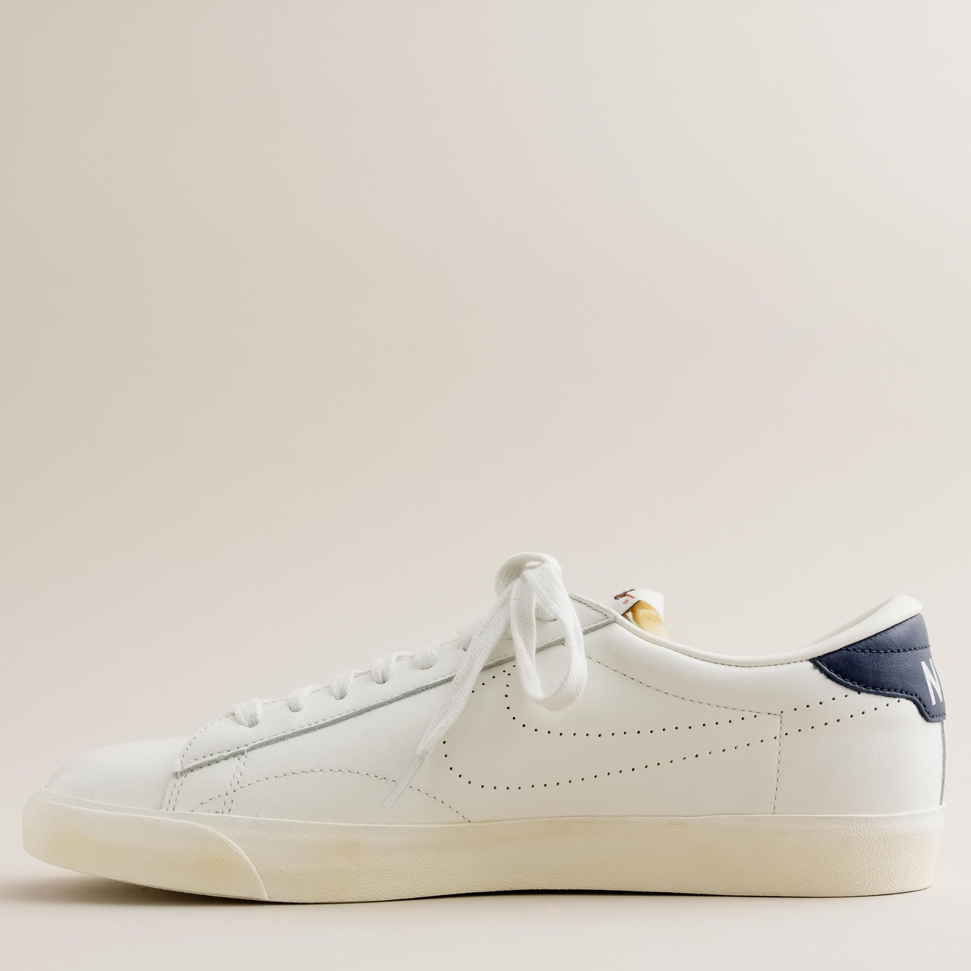33ad5e236 Nike® for J.Crew Vintage Collection leather Tennis Classic AC sneakers    sneakers