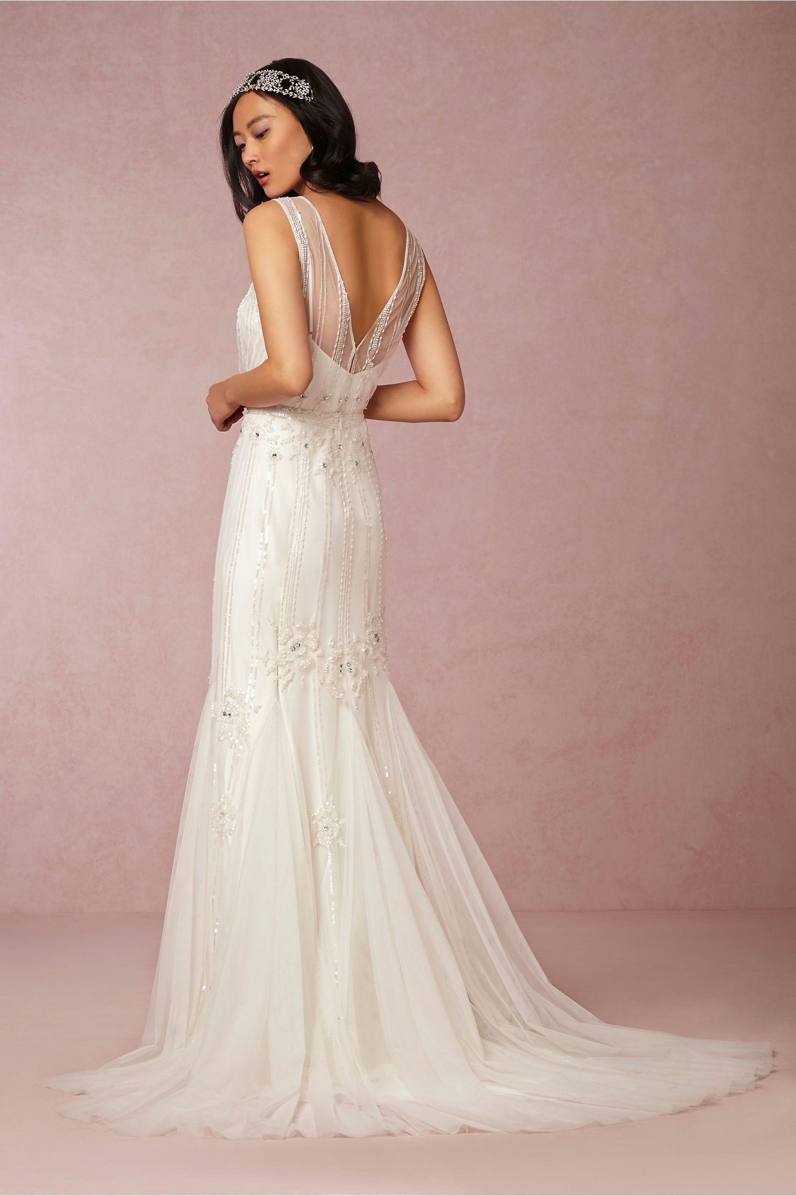Magnolia Gown from @BHLDN | from Alma Novia by Rosa Clara´ (Back ...
