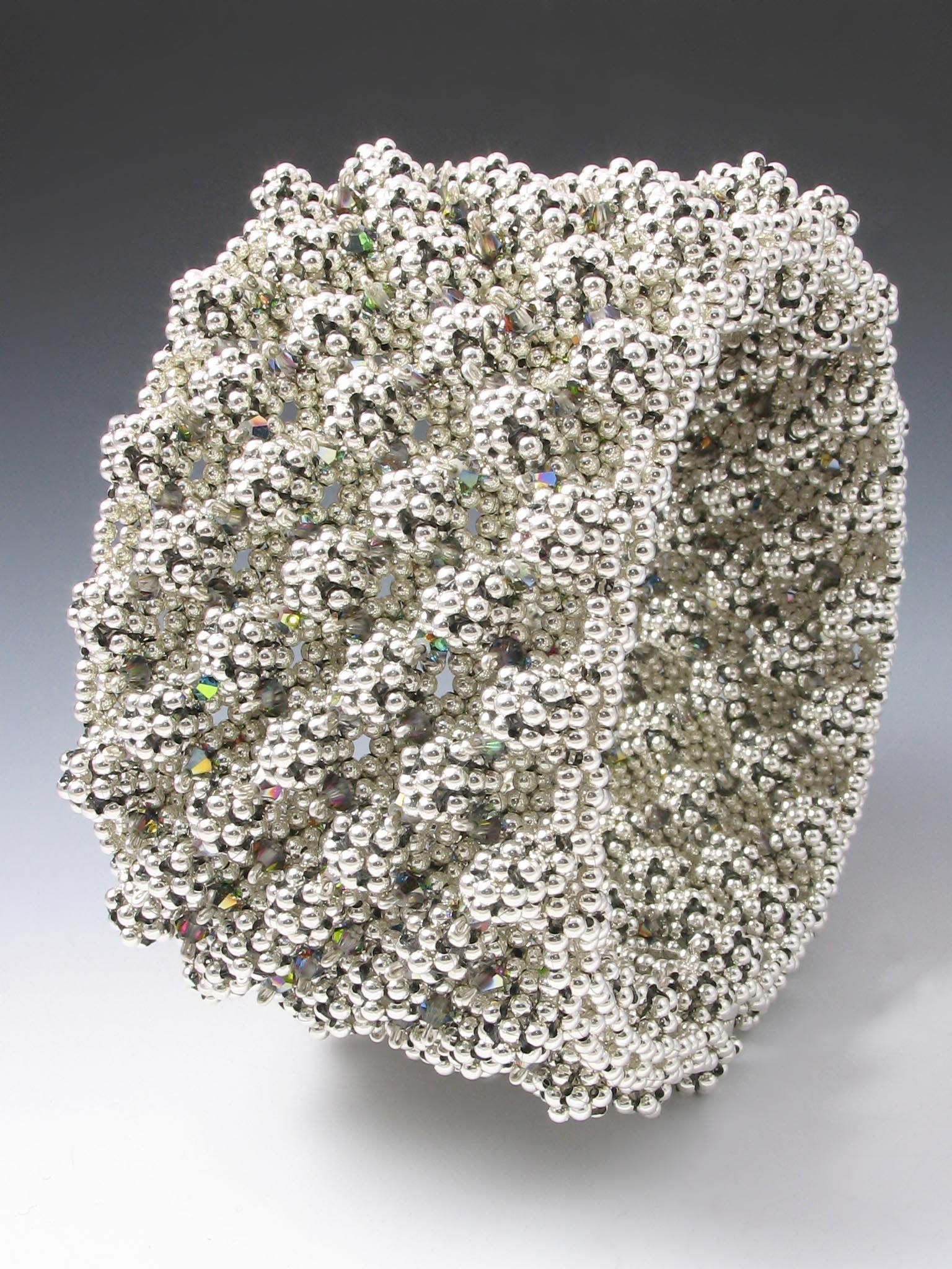 Rachel Nelson-Smith  Ootheca Cuff silver