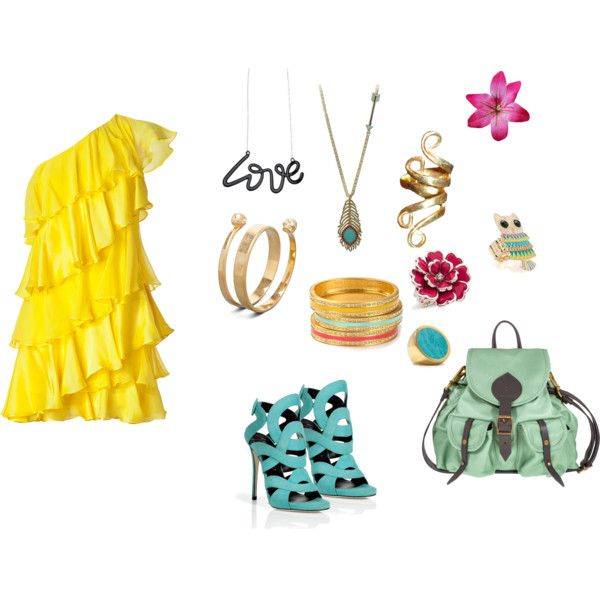 <3 <3 <3, created by calledbylove on Polyvore