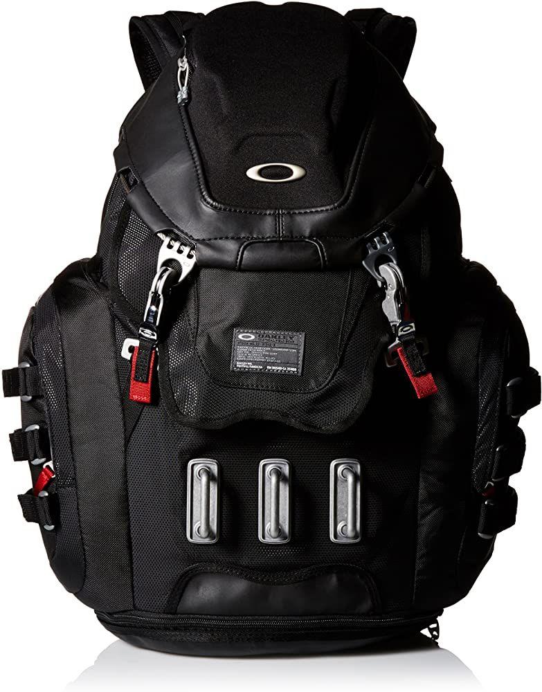 Amazon Com Oakley Men S Kitchen Sink Backpack Black Red One Size Casual Daypacks Backpack Reviews Backpacks Oakley Men