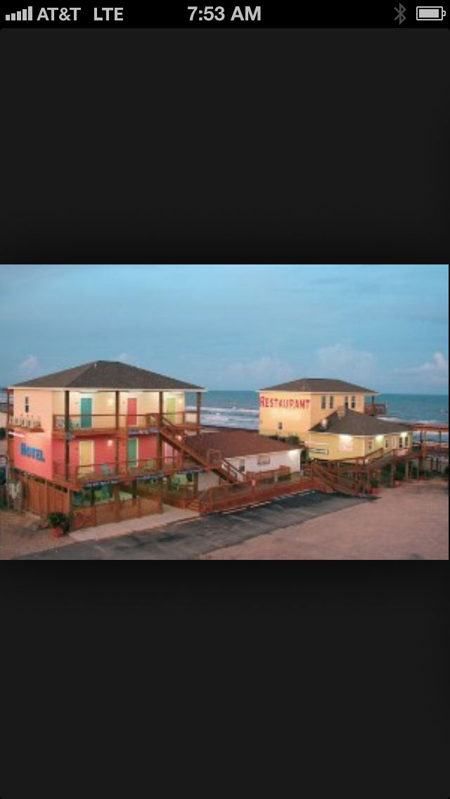 Ocean Village Hotel Surfside Beach Texas Beach Sand Sun