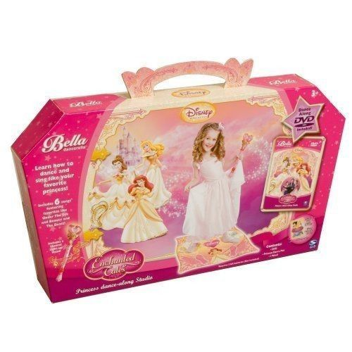 Bella Dancerella Disney Princess Dance Studio Dvd Magic Wand Dance Mat New Princess Dance Dance Studio Disney