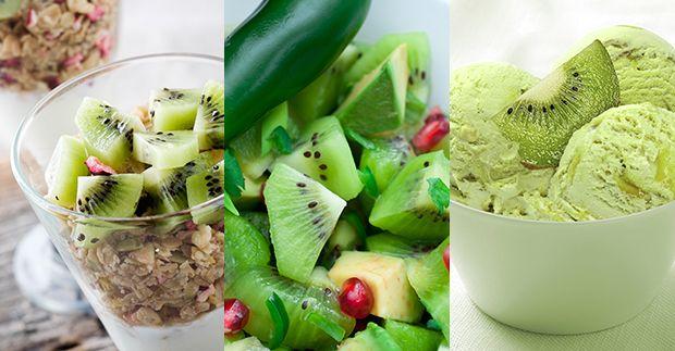 Para aprovechar al máximo el delicioso sabor del kiwi aprovecha estas 3 opciones divertidas y deliciosas con kiwi.
