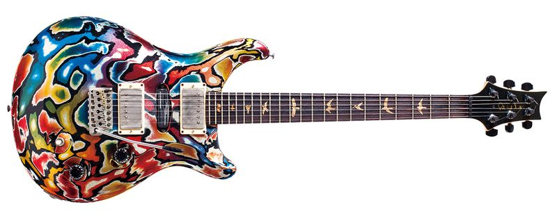 """12 Paul Reed Smith / CE-22 """"Ultra-Q""""No.1 1993 (379049) - http://www.digimart.net/magazine/article/2015062501476.html"""