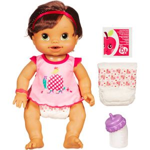 For Lily Baby Alive Wets N Wiggles Doll Brunette Kid