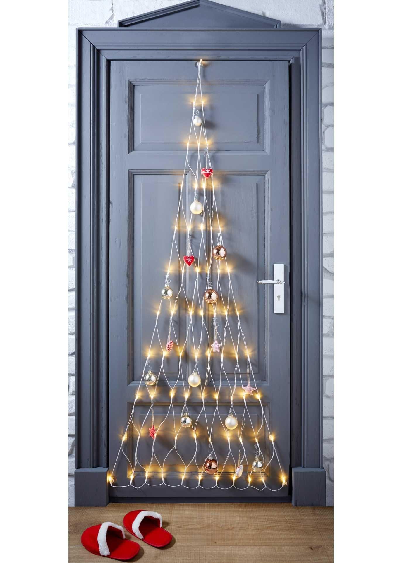 Decorazioni Natalizie A Led.Rete Luminosa A Led Albero Di Natale Bpc Living Alberi Di Natale Led Albero Di Natale Bianco