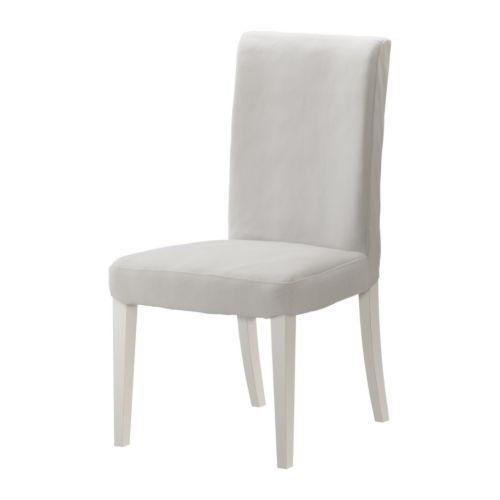 HENRIKSDAL Stol - Gobo hvid  - IKEA