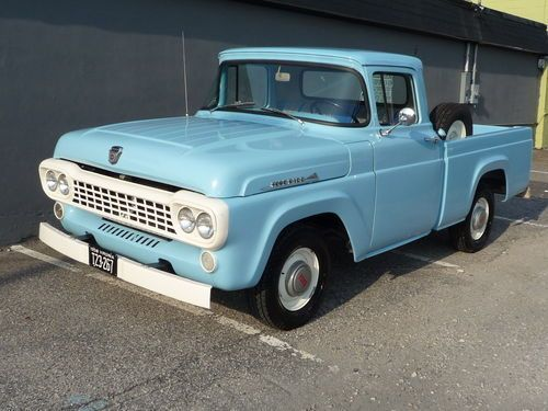 Sell Used 1958 F100 Short Box Nice In Norfolk Virginia Ford Trucks Ford Ford Pickup