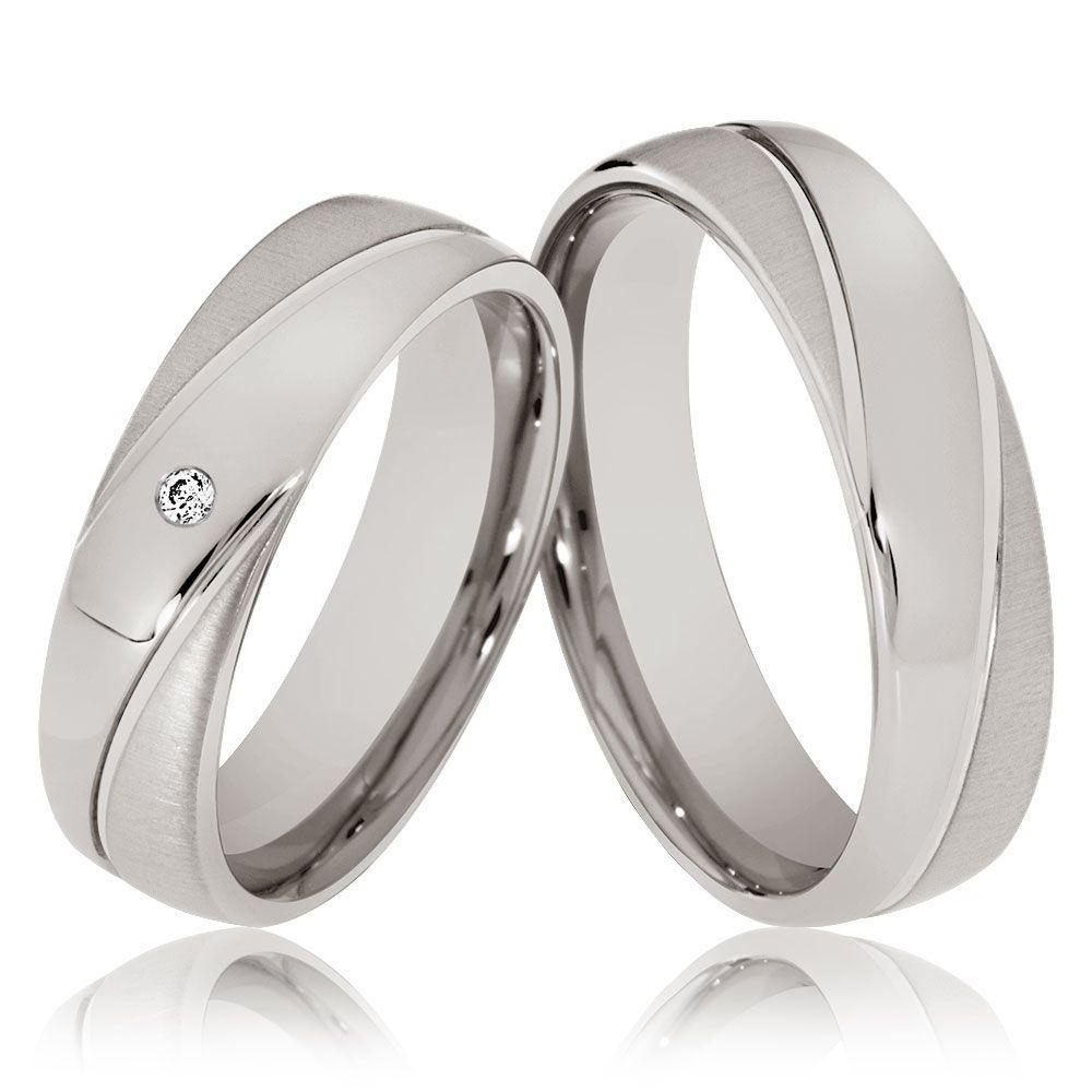 Silber 925 J39-1B Trauringe  Eheringe Verlobungsringe mit echten Blautopas