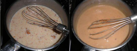 Lost in the kitchen-Perdida en la cocina: Cremas de relleno: pastelera, chocolate, café y turrón