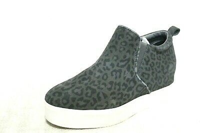 0I2-26 J/Slides Sallie Women's Shoes GREY LEOPARD SUEDE SIZE 8.5M #fashion #clothing #shoes #accessories #women #womensshoes (ebay link)