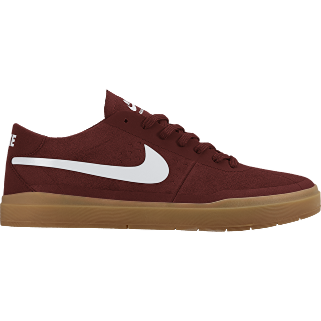 c9ddd25dedaee Nike SB Bruin Hyperfeel Shoes - Dark Cayenne/White | Mens Skate ...