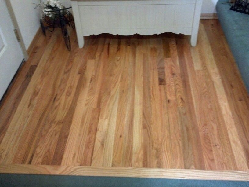 Red oak natural finish by Wood Pro Floors Flooring