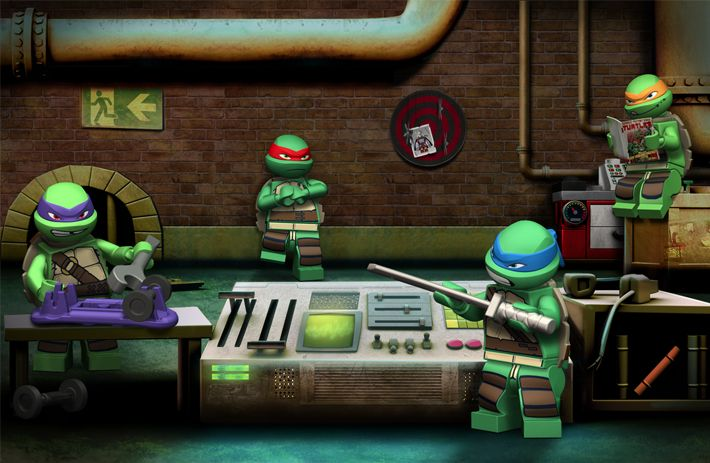 lego teenage mutant ninja turtles game  u0026 39 save april u0026 39  game