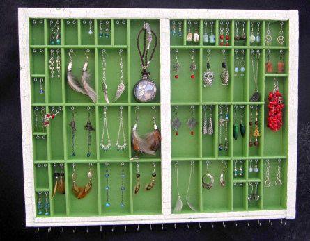 Personal Jewelry Storage & Display by BizarreIntentions on Etsy, $135.00