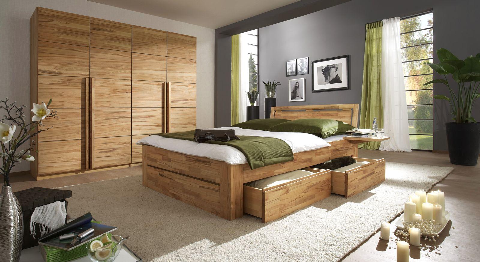Komplett-Schlafzimmer aus Massivholz- Andalucia | Komplettes ...