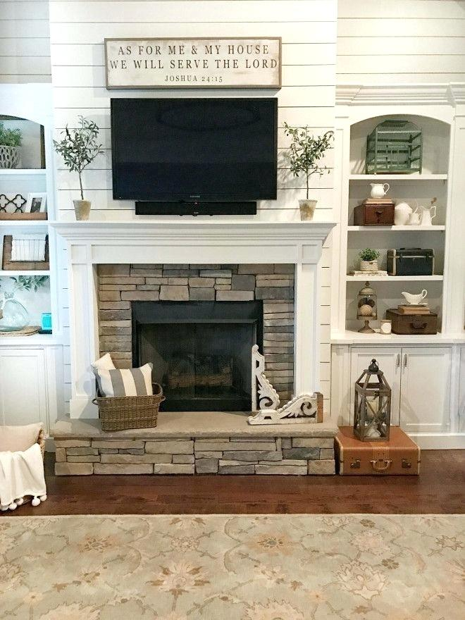 Tv Fireplace Ideas Best Family Room Fireplace Ideas On Family Rooms Over Fireplace Farm House Living Room Farmhouse Fireplace Decor Farmhouse Decor Living Room