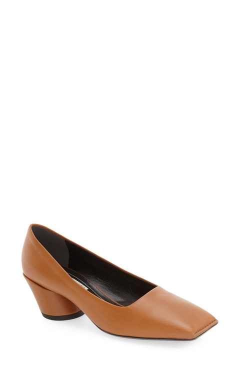 f044aa36e5a Balenciaga  Quadro  Block Heel Pump (Women) Balenciaga Designer
