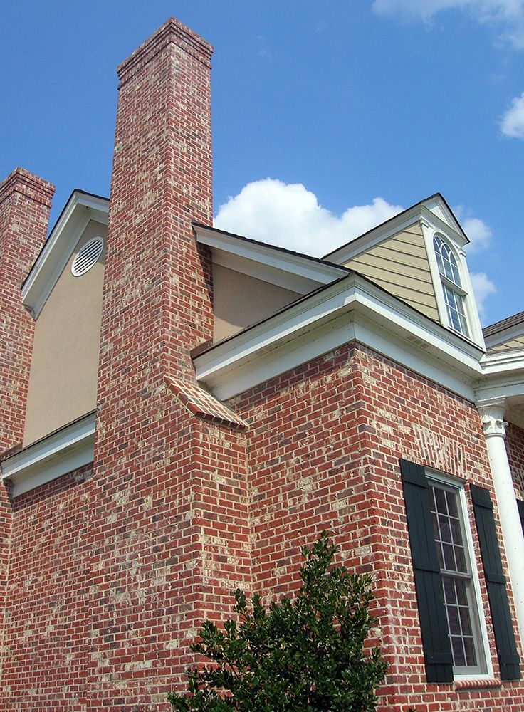 how to build a chimney stack
