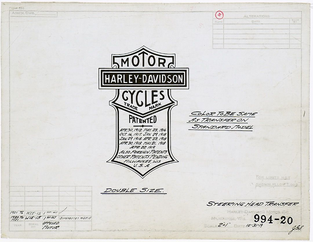 To Motorcycle Purists The Discovery Of These Harley Davidson Historical Documents Could Be Compared To That Of Kin Harley Davidson Historical Documents Harley