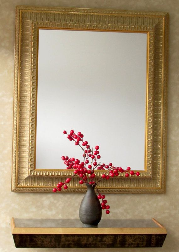 Gold #Ornate #Framed #Mirror or #Chalkboard on #Etsy #Framedmirror ...