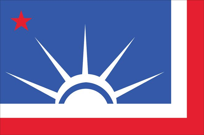 could these redesigned state flags bring america together - Flag Design Ideas