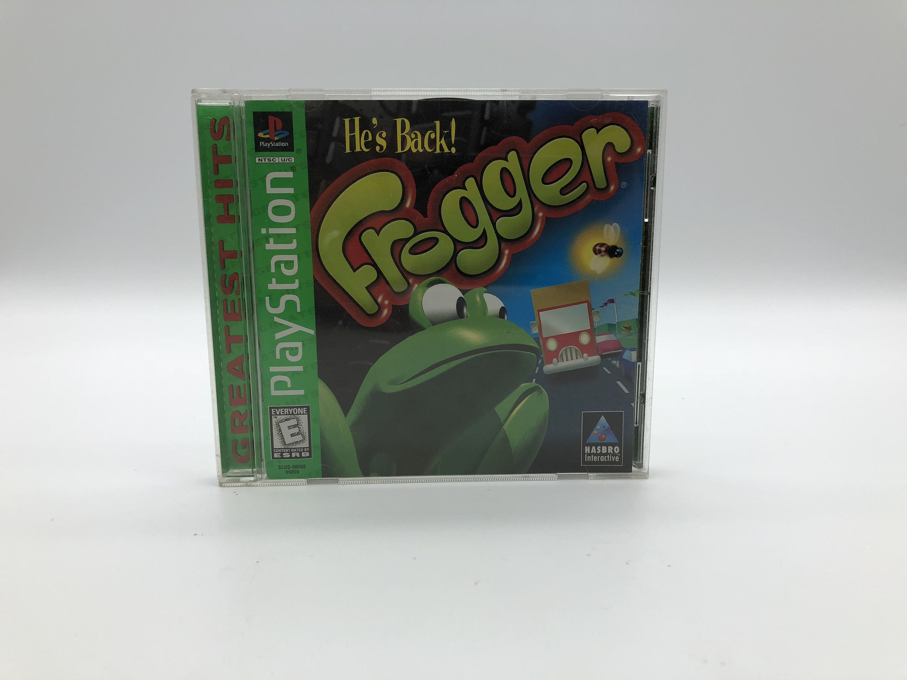 Frogger (Sony PlayStation 1, 1997) Vintage Video Game