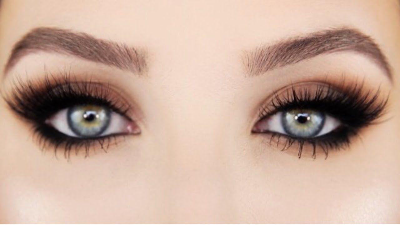 How To Easy Smokey Cat Eye Jaclyn Hill Youtube Makeup Nails Inez Fine Line Eyeliner Black