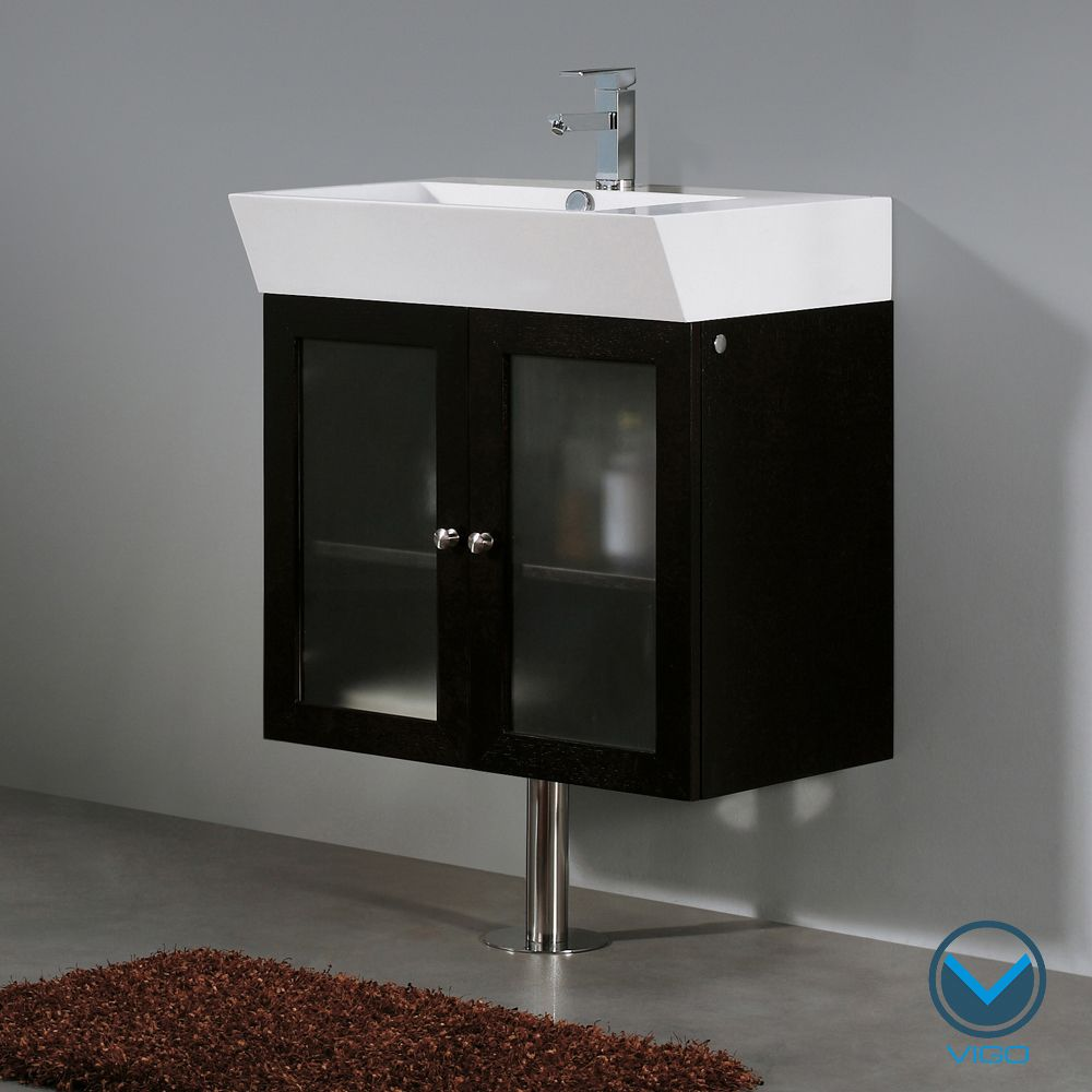 Vigo 25-inch Single Bathroom Vanity | Overstock.com Shopping - The Best Deals on Bathroom Vanities