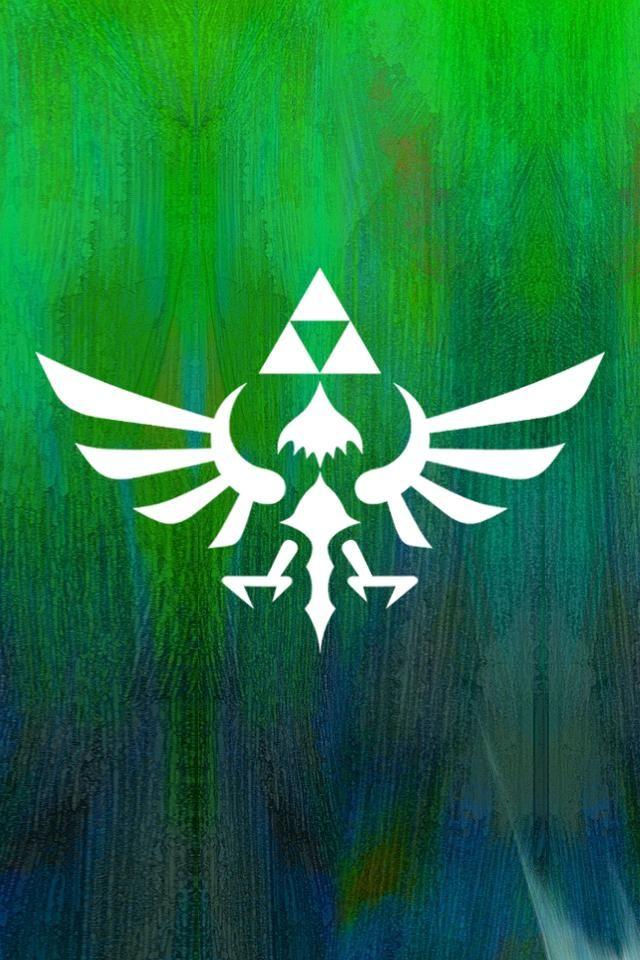 Ssgreenwallpaperiphone Legend Of Zelda Zelda Skyward Zelda Art