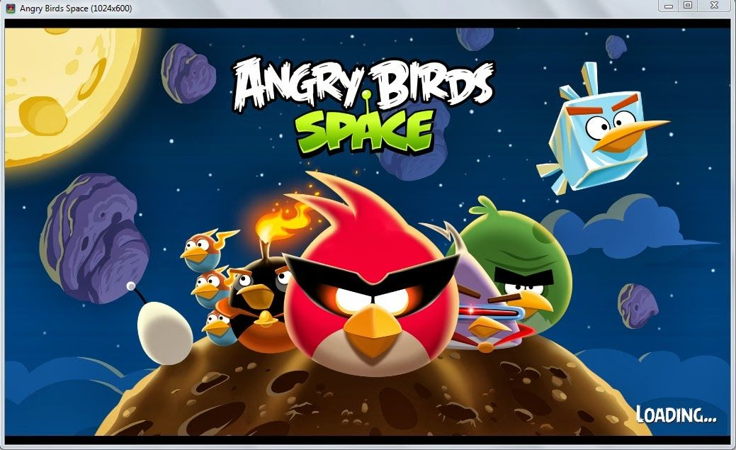 Free Download Angry Bird Space 1 4 1 Angry Birds Kartun Aplikasi